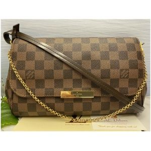 Louis Vuitton Favorite MM Damier Ebene (FL4154)